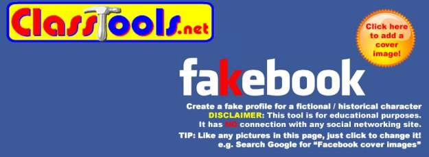 Fakebook'! Create a Fake Facebook Profile Wall using this